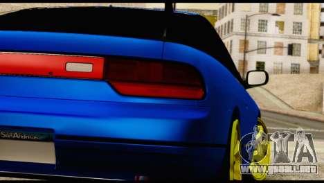 Nissan Silvia S13 Sileighty Drift Moster para visión interna GTA San Andreas