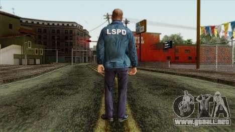 Police Skin 13 para GTA San Andreas segunda pantalla