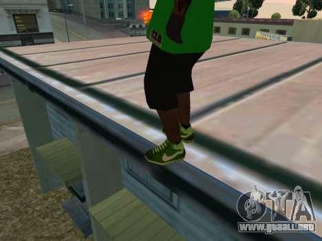 Fam3 Skin para GTA San Andreas tercera pantalla