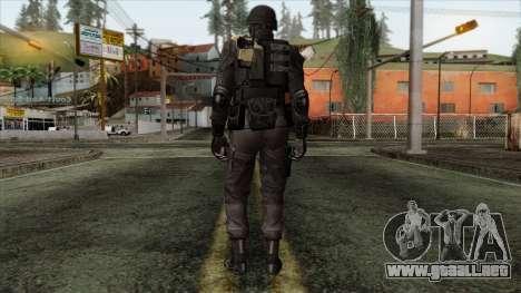 Resident Evil Skin 3 para GTA San Andreas segunda pantalla