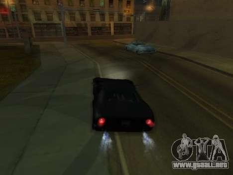New Effects Pack White Version para GTA San Andreas quinta pantalla