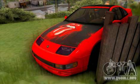 Nissan 300XZ The Rolling para la vista superior GTA San Andreas