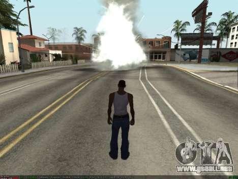 New Effects Pack White Version para GTA San Andreas tercera pantalla