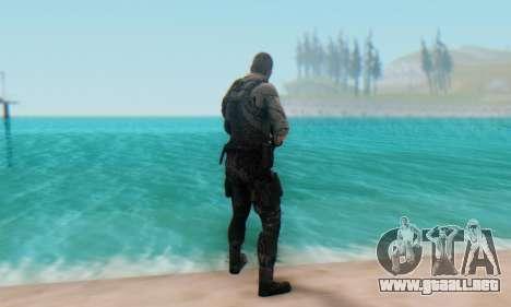 Sam Fisher - Paladin Outfit (Splinter Cell Black para GTA San Andreas tercera pantalla