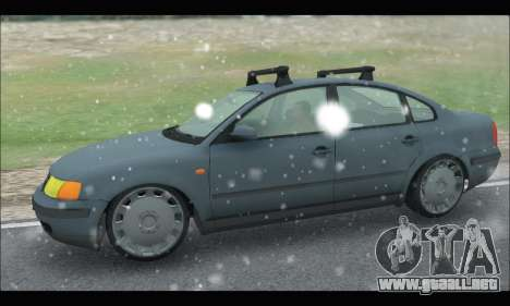 VW Passat para GTA San Andreas left