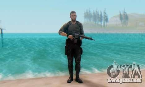 Sam Fisher - Paladin Outfit (Splinter Cell Black para GTA San Andreas