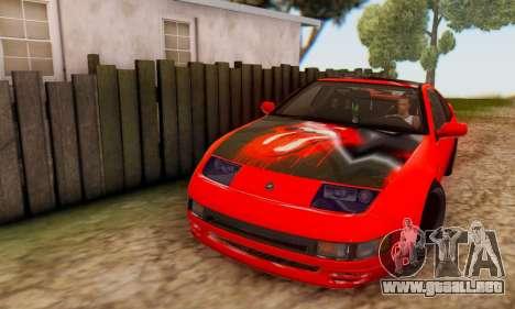 Nissan 300XZ The Rolling para visión interna GTA San Andreas