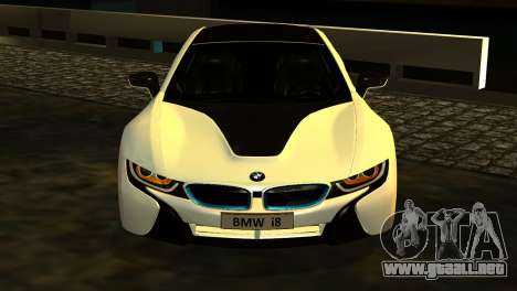 BMW I8 2013 para la visión correcta GTA San Andreas