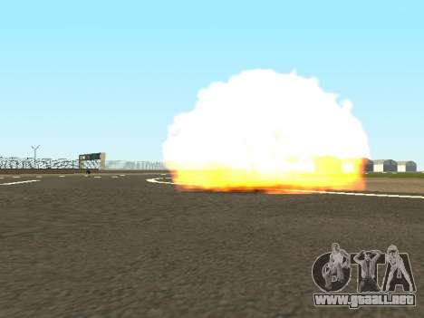 Dynamite para GTA San Andreas segunda pantalla