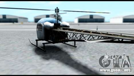 Beta Sparrow para GTA San Andreas left