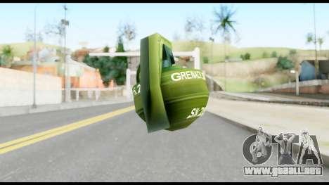 MGS1-2 Grenade from Metal Gear Solid para GTA San Andreas