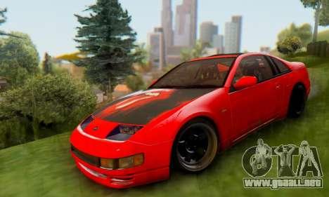 Nissan 300XZ The Rolling para GTA San Andreas vista posterior izquierda
