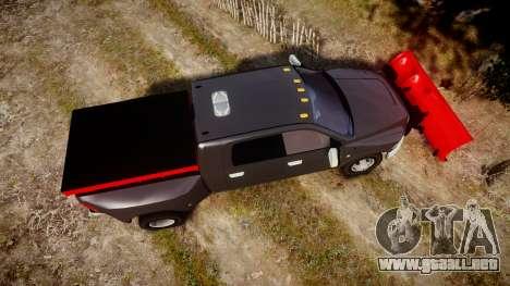Dodge Ram 3500 Plow Truck [ELS] para GTA 4 visión correcta