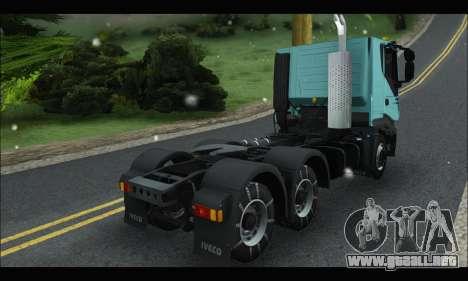 Iveco Trakker 2014 Snow para la visión correcta GTA San Andreas