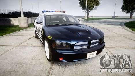 Dodge Charger SRT8 2010 Sheriff [ELS] para GTA 4