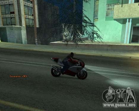Car Speed para GTA San Andreas quinta pantalla