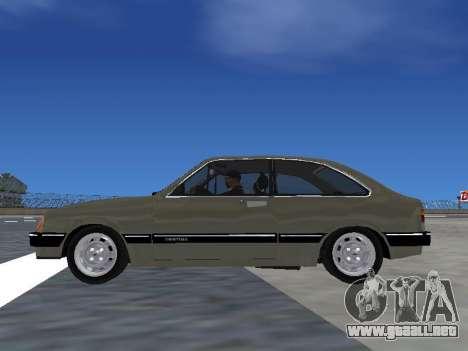 Chevrolet Chevette Hatch para la visión correcta GTA San Andreas