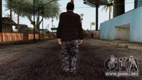 GTA 4 Skin 87 para GTA San Andreas segunda pantalla