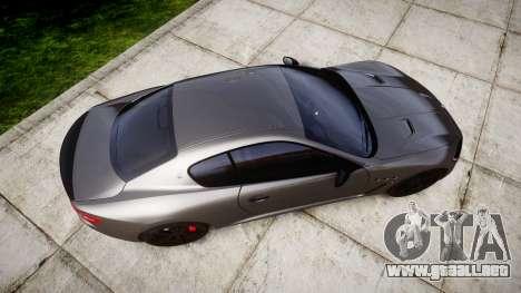 Maserati GranTurismo MC Stradale para GTA 4 visión correcta