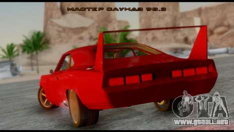 Dodge Charger Daytona para GTA San Andreas left