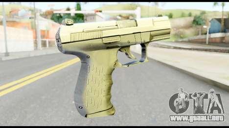 New Pistol para GTA San Andreas segunda pantalla