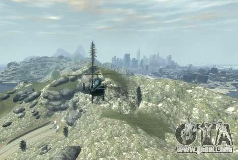 La Riviera Francesa para GTA 4 segundos de pantalla