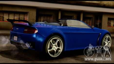 GTA 5 Dewbauchee Rapid GT Cabrio [HQLM] para la visión correcta GTA San Andreas