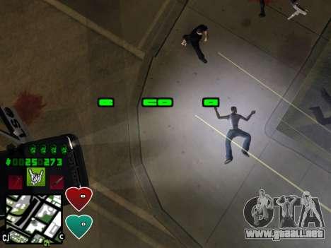 C-HUD Classic v4.1 para GTA San Andreas sexta pantalla