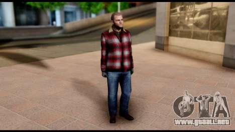 Prologue Michael Skin from GTA 5 para GTA San Andreas tercera pantalla