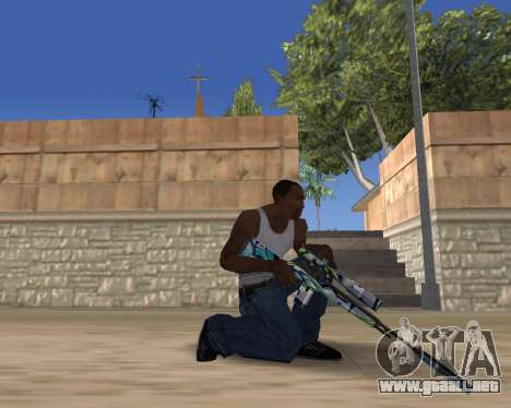 Graffity weapons para GTA San Andreas tercera pantalla