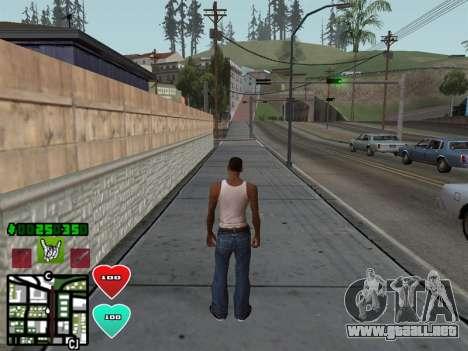 C-HUD Classic v4.1 para GTA San Andreas