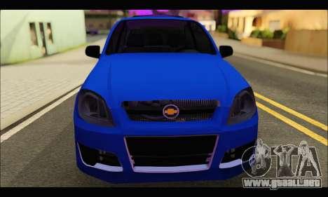 Chevrolet Celta Spirit VHC-E 2011 para la visión correcta GTA San Andreas