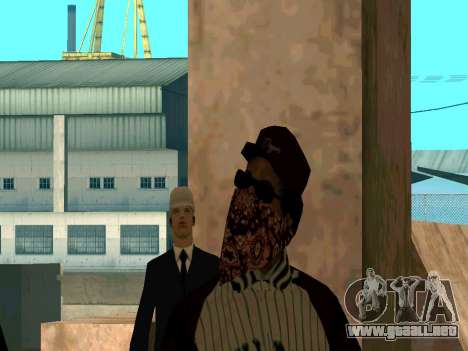 Doggers Gang para GTA San Andreas sucesivamente de pantalla