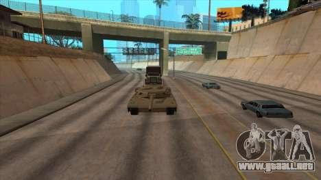 Transporte de tanque de remolque para GTA San Andreas sucesivamente de pantalla