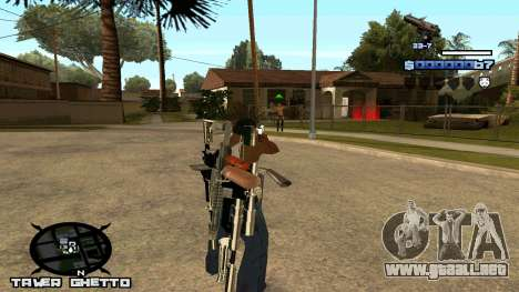 HUD Ghetto Tawer para GTA San Andreas segunda pantalla