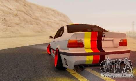 BMW M3 E36 German Style para GTA San Andreas left
