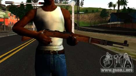 Mauser 98K from Wolfenstein 2009 para GTA San Andreas tercera pantalla
