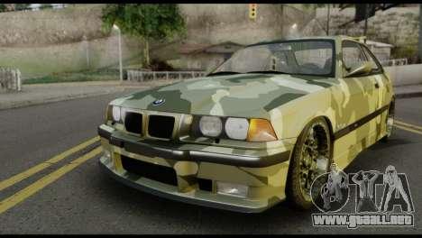 BMW M3 E36 Camo Drift para GTA San Andreas