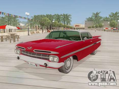 Chevrolet Impala 1959 para GTA San Andreas left