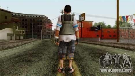GTA 4 Skin 21 para GTA San Andreas segunda pantalla