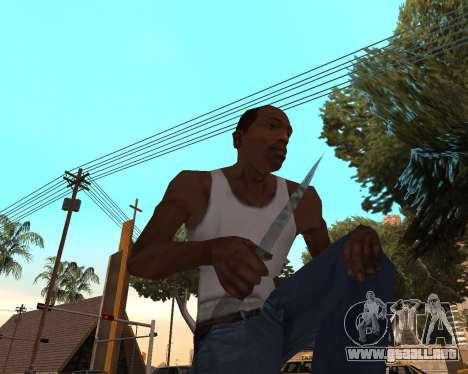 Año nuevo arma pack v2 para GTA San Andreas tercera pantalla