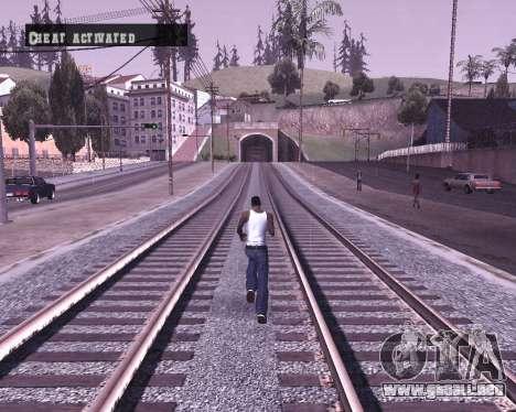 Colormod by Shane para GTA San Andreas sucesivamente de pantalla
