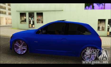 Chevrolet Celta Spirit VHC-E 2011 para GTA San Andreas left