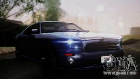 Bravado Buffalo Sedan v1.0 (HQLM) para GTA San Andreas vista posterior izquierda