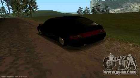 VAZ 21123 de Bad Boy para GTA San Andreas vista posterior izquierda