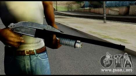 Pump Shotgun from Max Payne para GTA San Andreas tercera pantalla
