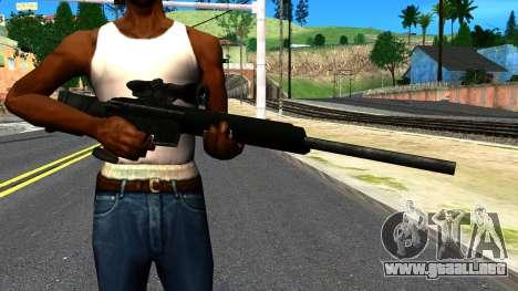 Sniper Rifle from GTA 4 para GTA San Andreas tercera pantalla