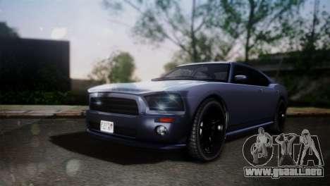 Bravado Buffalo Sedan v1.0 (HQLM) para GTA San Andreas
