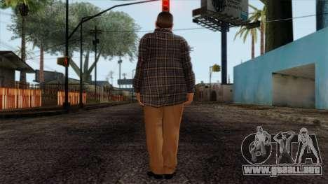 GTA 4 Skin 72 para GTA San Andreas segunda pantalla