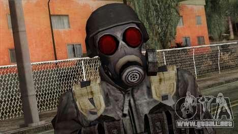 Resident Evil Skin 3 para GTA San Andreas tercera pantalla